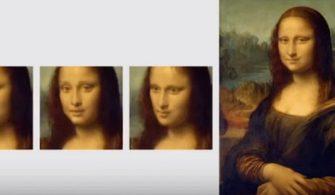 Mona Lisa Yapay Zeka ile 'canlandı'
