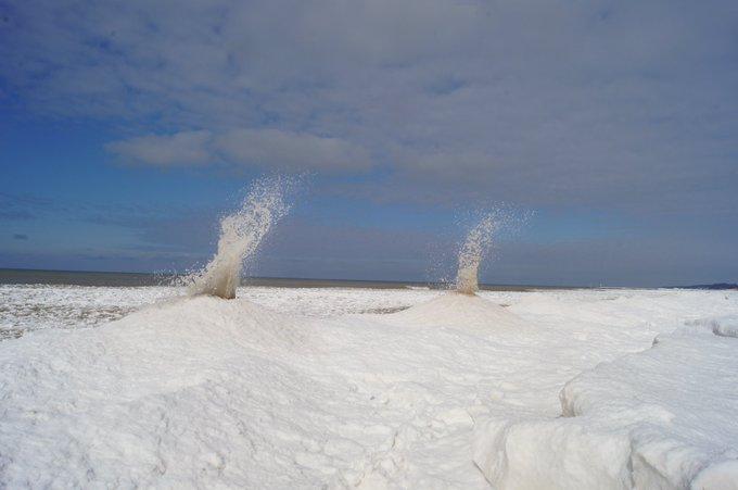 buz volkanı