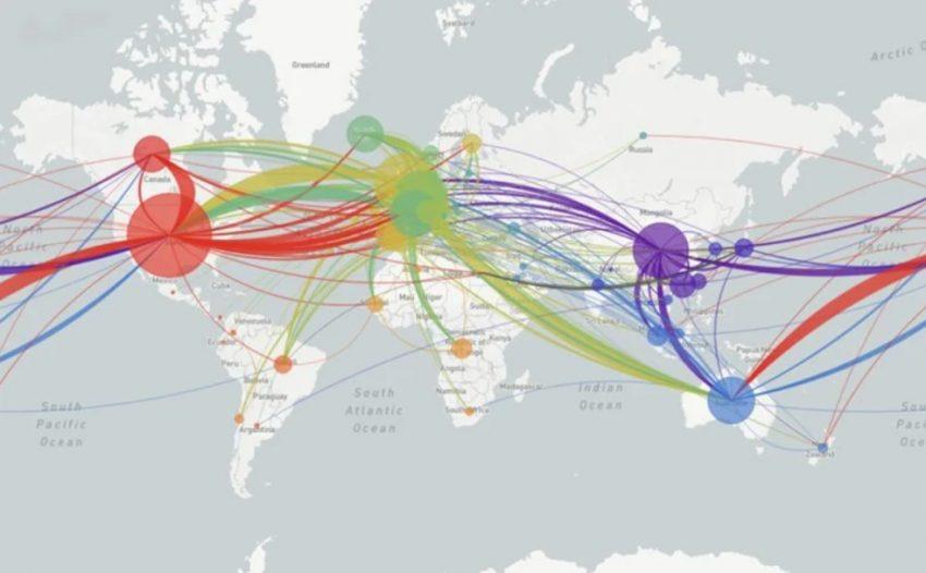koronavirüs yayılma haritası